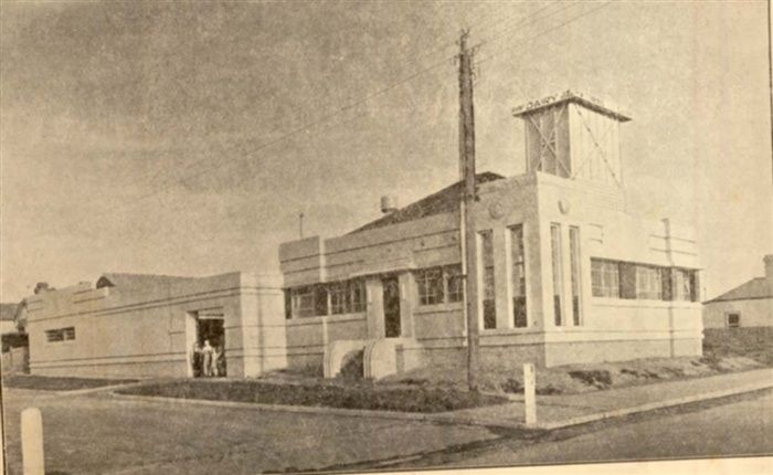 Darebin Heritage - Tomkins built a model dairy in St. Georges Road, Thornbury during the 1930s.