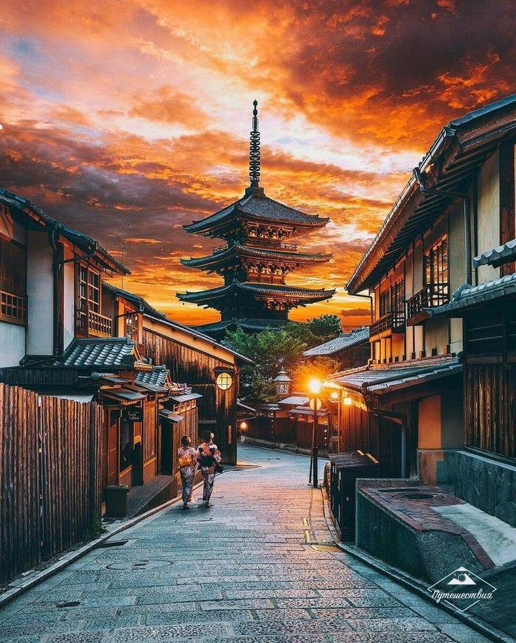 прекрасно вписываются фото японский город утро сих