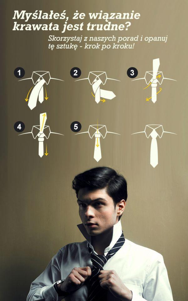 Myślałeś, że wiązanie krawata jest trudne? Źle myślałeś! #dajemyrade