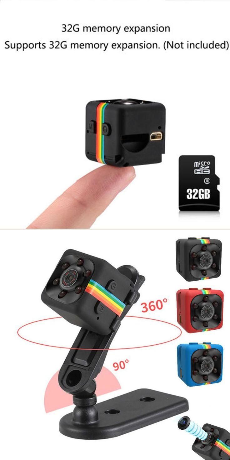 Original Mini Camera SQ11 SQ8 HD Camcorder Night Vision Micro Camera 1080P Sports Mini DV Voice Video Recorder for Car Driving