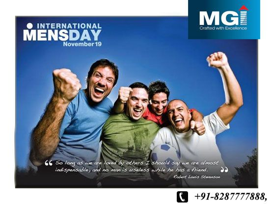 Behind every great #man is a woman rolling her eyes.  #Happy_International_Men's #Day  www.mymgi.com