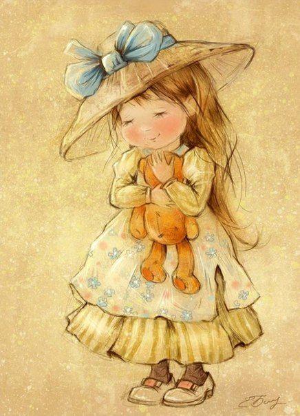 Летние иллюстрации художницы Екатерины Бабок - Галерея искусств - Для души - Статьи - Школа радости