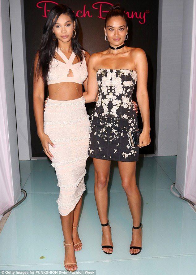 Chanel Iman & Shanina Shaik