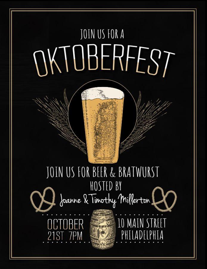 20 best Oktoberfest Flyer Templates images on Pinterest Flyer - event flyer examples