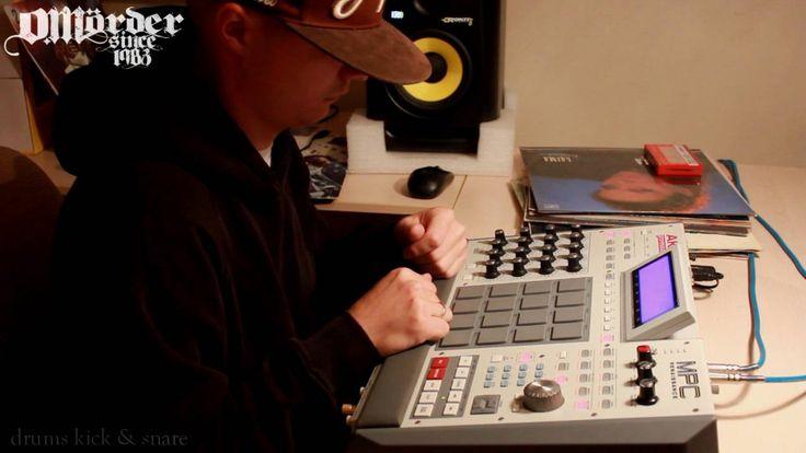 classical composer sample on akai mpc beatmaking video