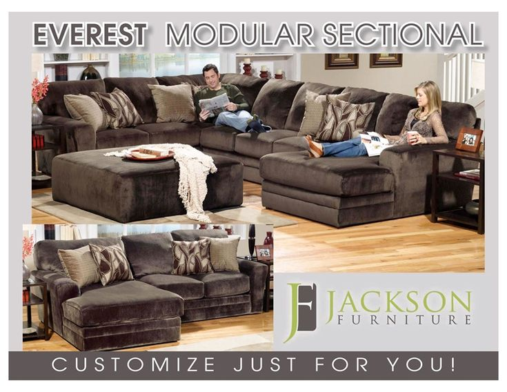 Shop For Jackson Furniture Everest Sectional, And Other Living Room  Sectionals At Furniture Fair In Cincinnati U0026 Dayton OH And Northern KY.