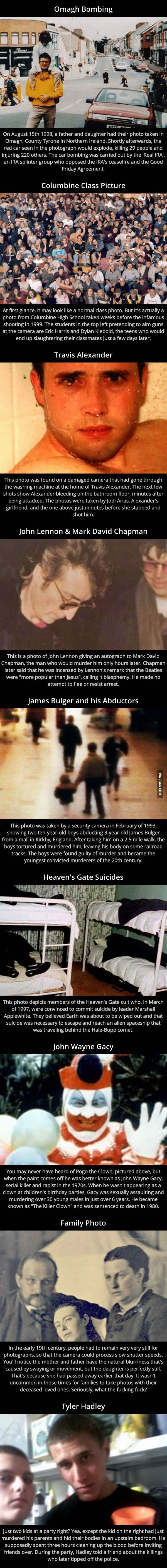9 Innocent Looking Pictures With A Scary Ass Backstory - 9GAG