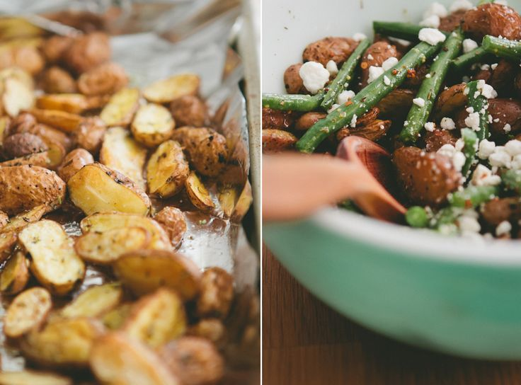 Roasted Fingerling Potato Salad | All things Gluten free/Clean eating ...