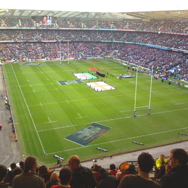 Twickenham Stadium @ England v Wales 2012 RBS 6 Nation fixture