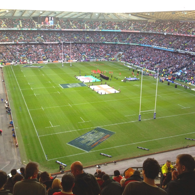 Twickenham Stadium @ England v Wales 2012 RBS 6 Nation fixture