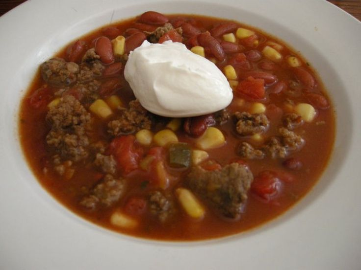 World's Easiest Supper: Taco Soup ~ http://www.southernplate.com