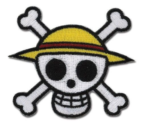 Legit One Piece Luffy Straw Hat Pirate Jolly Roger Logo Iron On Patch 4325 Ebay One Piece Luffy One Piece Anime Embroidered Patches