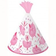 Tutu Much Fun Party Hats Child Size Pkt8 $11.95 20205905