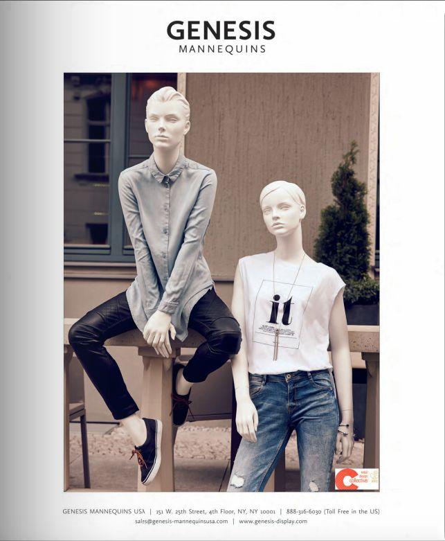 New Generation Female Collection in VMSD magazine   December 2015   #vm #visualmerchandising #visualmerchandizing #mannequins #womenswear