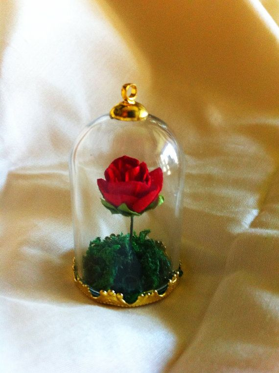 The Little Prince Rose Pendent by FelineFatale7 on Etsy