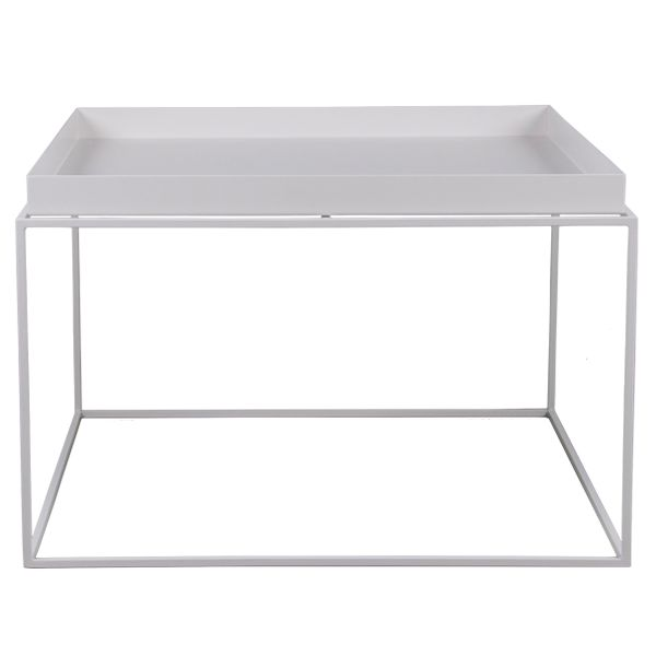 Hay Tray table large, white