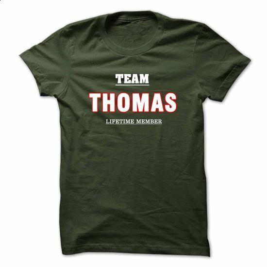 THOMAS Tshirt and Hoodie - Team THOMAS lifetime member - design your own t-shirt #funny t shirts for men #linen shirts