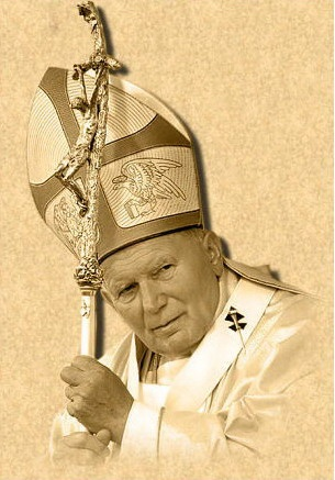 Pope John Paul was from Poland. ♥ I love him ♥