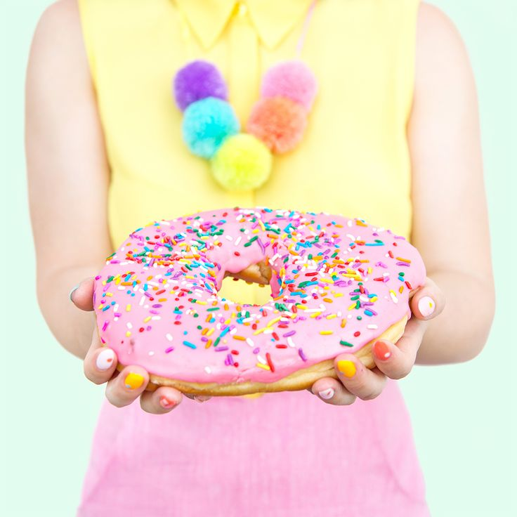 GIANT Frosted Pink Donut