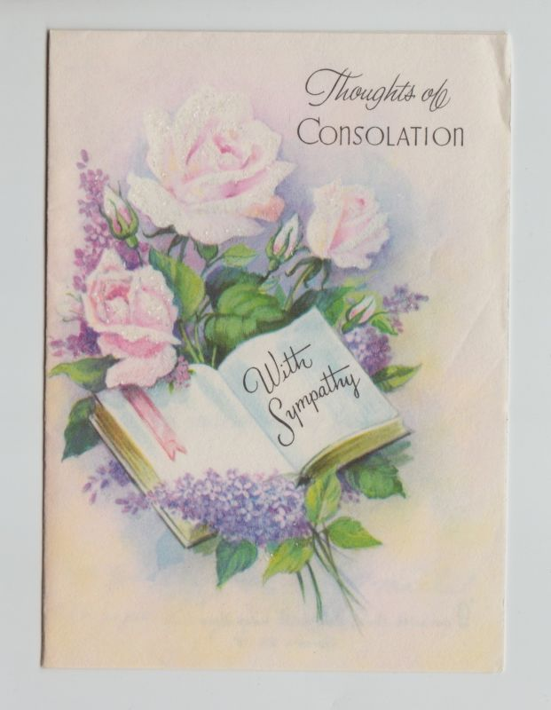 31 best sympathy cards images on pinterest sympathy cards vintage vintage sympathy card m4hsunfo