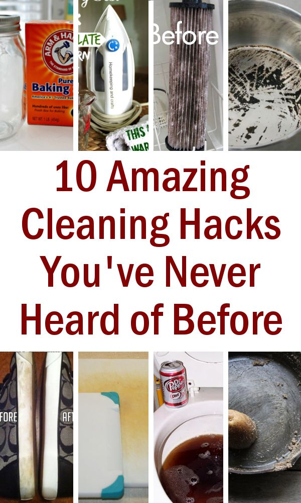 diy home sweet home: 10 Amazing Cleaning Hacks You've Never Heard of Before