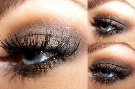 M.A.C Satin Taupe all over the lid and Brownscript in the crease.