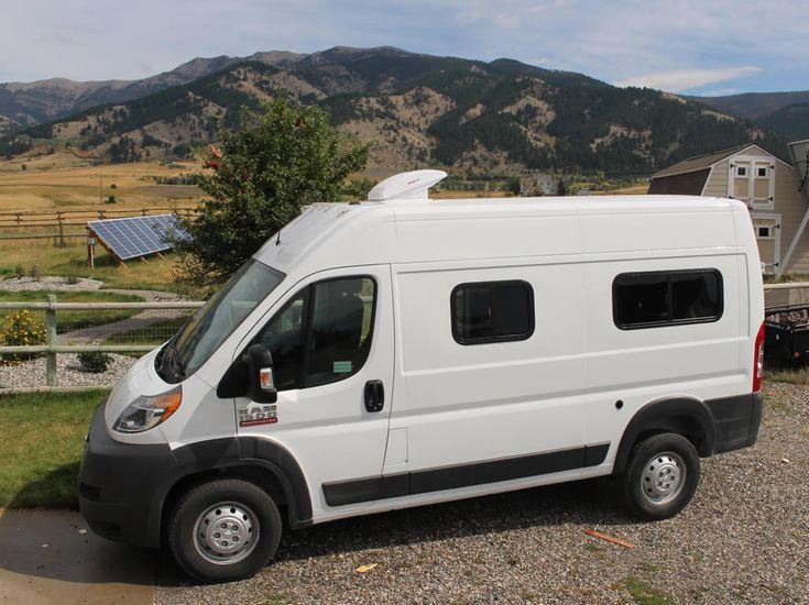 Maxx Fan On Camper Van Ram Promaster Surf Camper Van