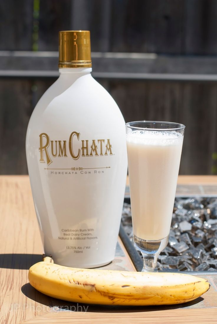Buttered Monkey (2 oz Rum Chata 1 oz vanilla vodka 1 oz banana liqueur 1 oz butterscotch schnapps)