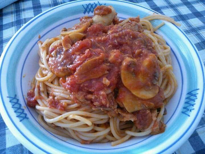 #Spaghetti alla #carrettiera