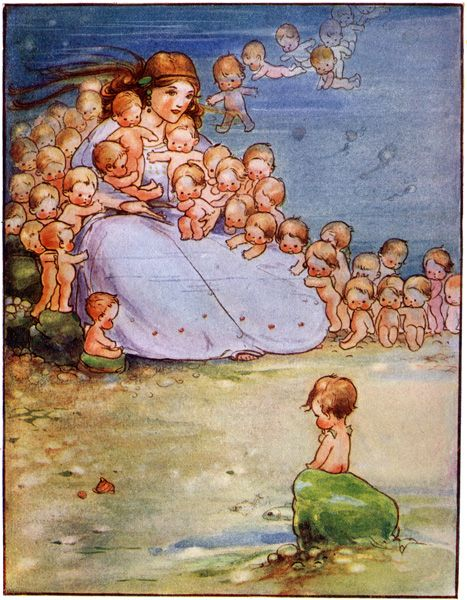 "Mabel Lucie Attwell, from ""The Water Babies"""