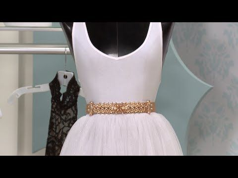 DIY Tulle Skirt - YouTube | I'm thinking about making this in pink for Valentine's Day!