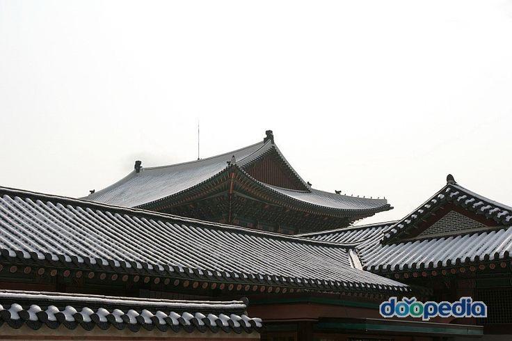지붕 - 경복궁 건물