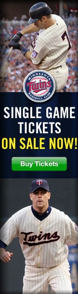 MN twins baseball game no game wk of June 18-24