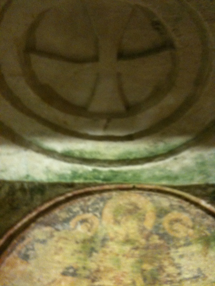 Soffitto della Cripta Bizantina