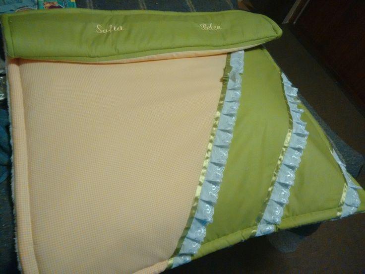 Cobertor cuna personalizado