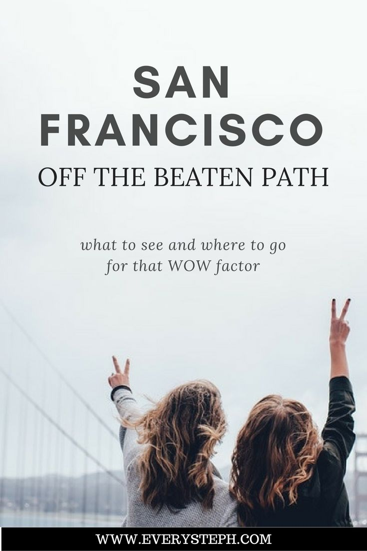 There are so many things to do in San Francisco! But once you've checked the unmistakable, yet touristy, spots, what else is there to do off the beaten path in San Francisco? Here are six attractions to see a different San Francisco.