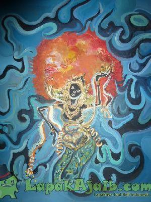 Lukisan Penari Karya Original B.Rosar