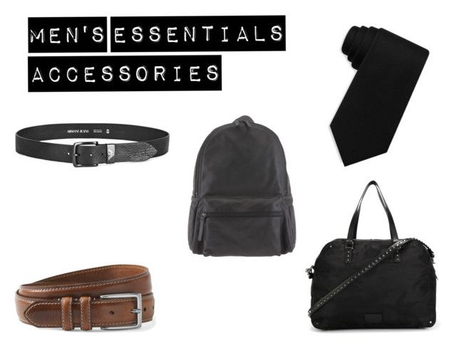Men's Capsule Wardrobe - Accessories by justian-edwin-darmawan on Polyvore featuring Orciani, Valentino, Tommy Hilfiger, Armani Jeans, men's fashion and menswear