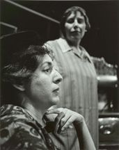 THE KILDEER. Maureen Fox, Francess Halpenny. Hart House Theatre