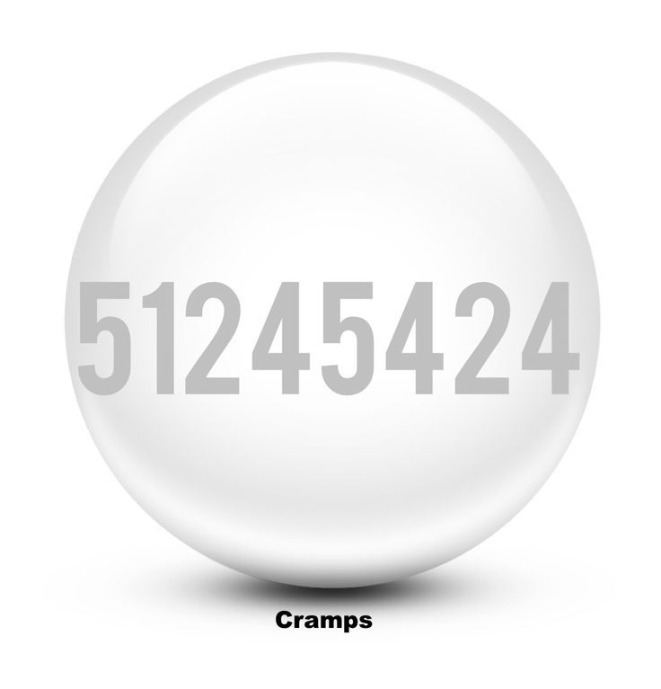 Grabovoi number sequence for Cramps.