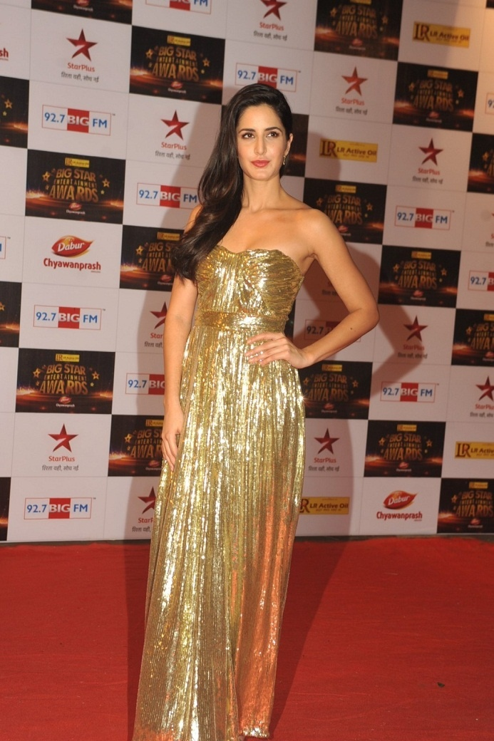 Katrina Kaif  at Big Star Entertainment Awards 2012.