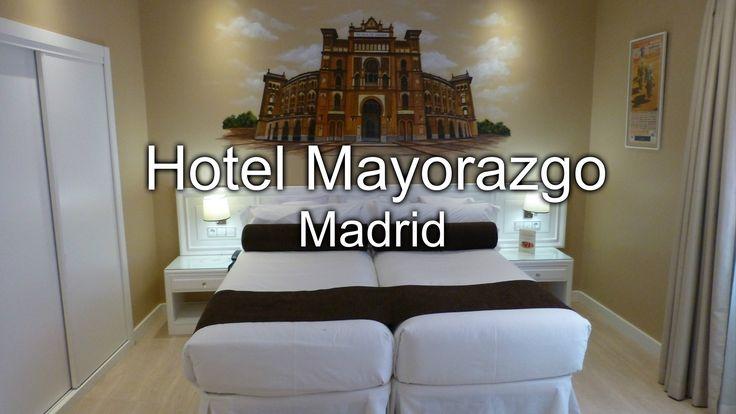 Hotel Mayorazgo de Madrid. Mi habitación.