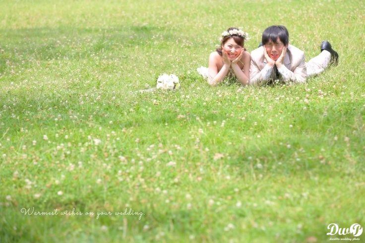 緑 芝生 (潮風公園) フォトウェディング,人気,東京23区