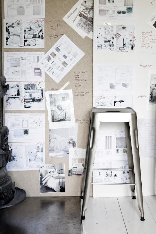 inspiration wall - via johanna-vintage