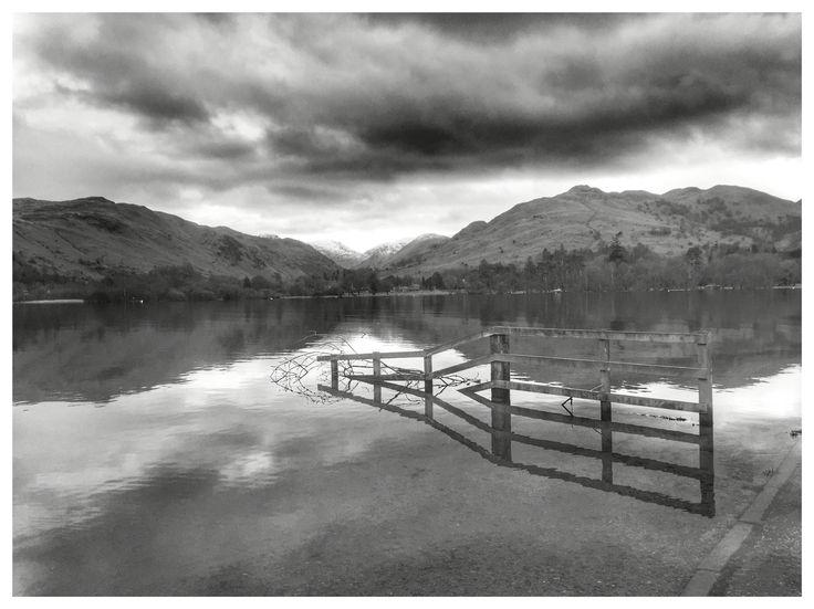 Fence. Ullswater. Lake District