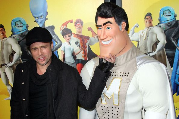 Brad+Pitt in Brad Pitt attends the New York screening of his latest movie,