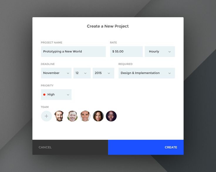 Dribbble - day076_-_create_a_new_project.jpg by Paul Flavius Nechita
