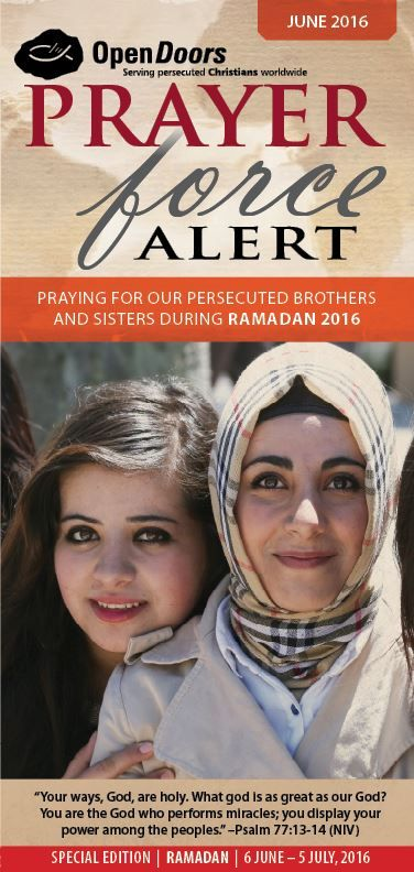 June Prayer Force Alert - Prayer Calendar - Ramadan 2016