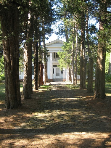 William Faulkner's Rowan Oak, Oxford Mississippi