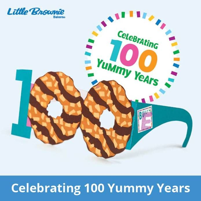 "Celebrating 100 Spec-tacular Years This year, we're celebrating 100 years of Girl Scouts selling cookies. That's 100 yummy years of Girl Scouts learning, leading, and having loads of fun! To join in on the celebration, check out these ""100"" years..."
